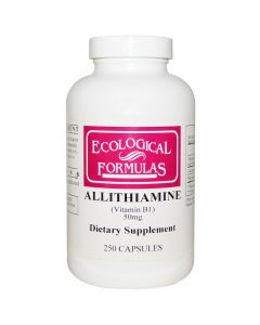 Ecological Formulas Allithiamine Vitamin B1 50 Mg 250 Kapslar