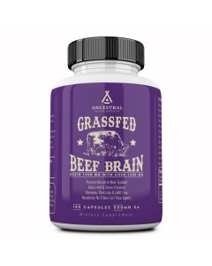 Grass Fed Beef Brain With Liver Ancestral Supplements