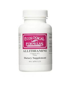 Ecological Formulas Allithiamine Vitamin B1 50 Mg 60 Kapslar