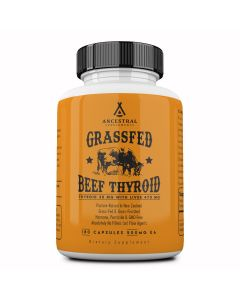 Grass Fed Natural Desiccated Thyroid Ancestral Supplements