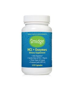 Smidge HCl + Enzymes (formerly GutZyme HCl)