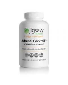 Jigsaw Adrenal Cocktail + Wholefood Vitamin C Kapslar
